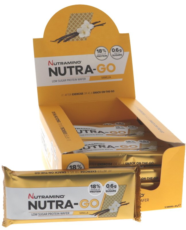 Proteinwafers Vanilj 12-pack - 60% rabatt