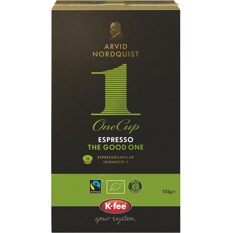 "Kahvikapselit ""The Good One"" 16 kpl - 33% alennus"