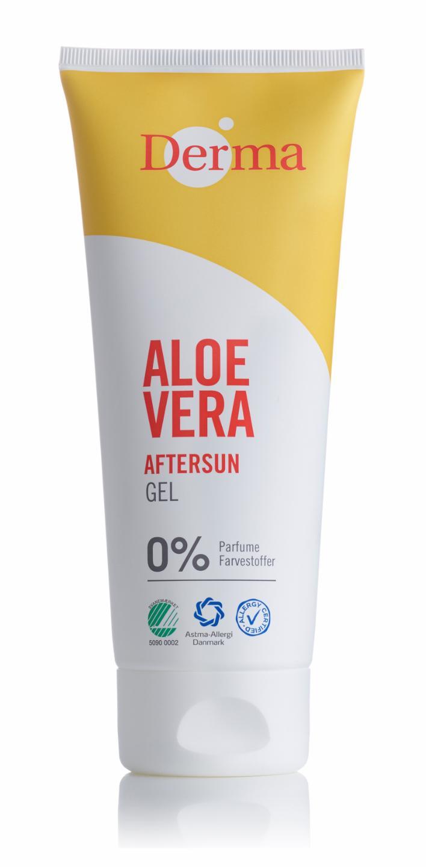Derma - Aloe Vera After Sun Gel 200 ml
