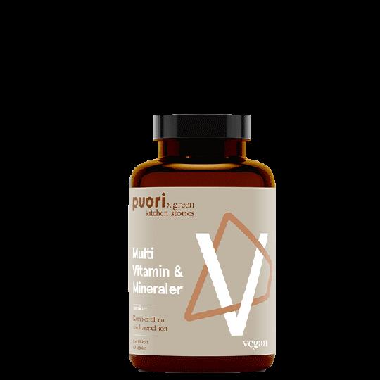 Multi Vitamin & Mineraler, 60 kapslar