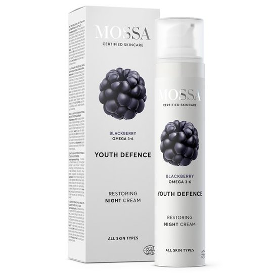 Mossa Youth Defence Restoring Night Cream, 50 ml