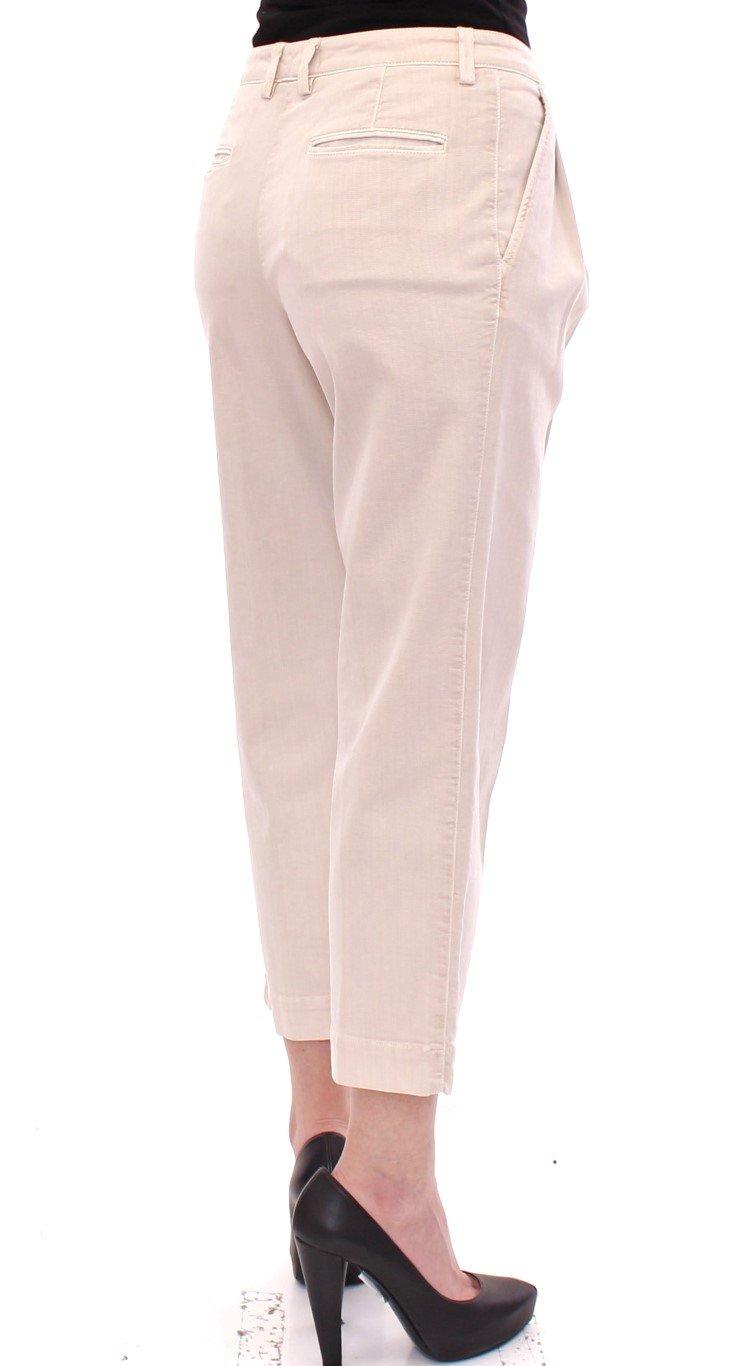 Dolce & Gabbana Women's Trousers Beige GSS10044 - IT40 S