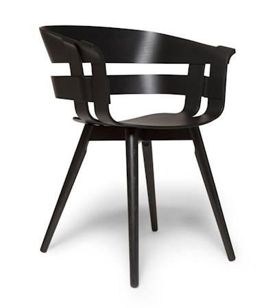 Wick stol – Svart/svart