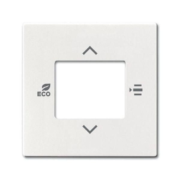 ABB 2CKA006155A0063 Keskiölevy termostaatille valkoinen