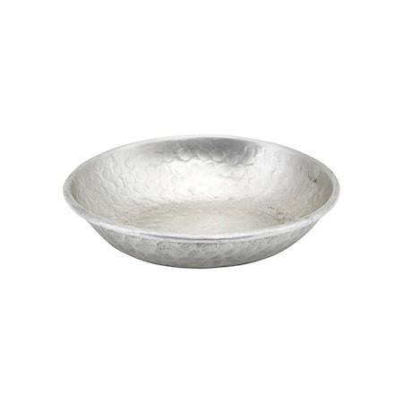 Bricka Kollan Silver finish 16 cm