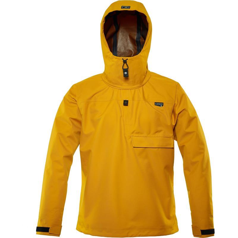 Loop Anorak Warm Yellow L Stormtett og lett ytre skalljakke