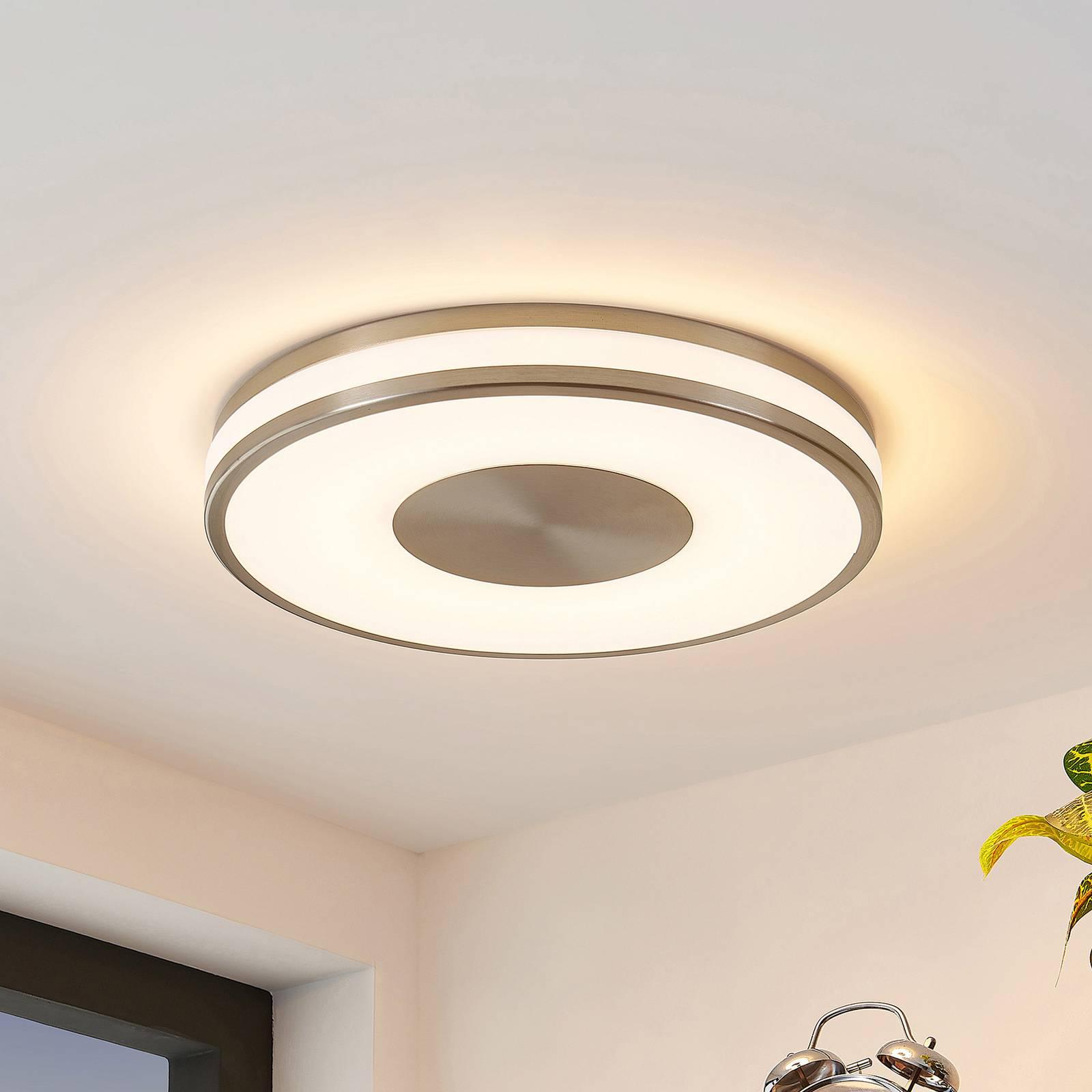 Lindby Fjella -LED-kattovalo, RGB-CCT-värinvaihto