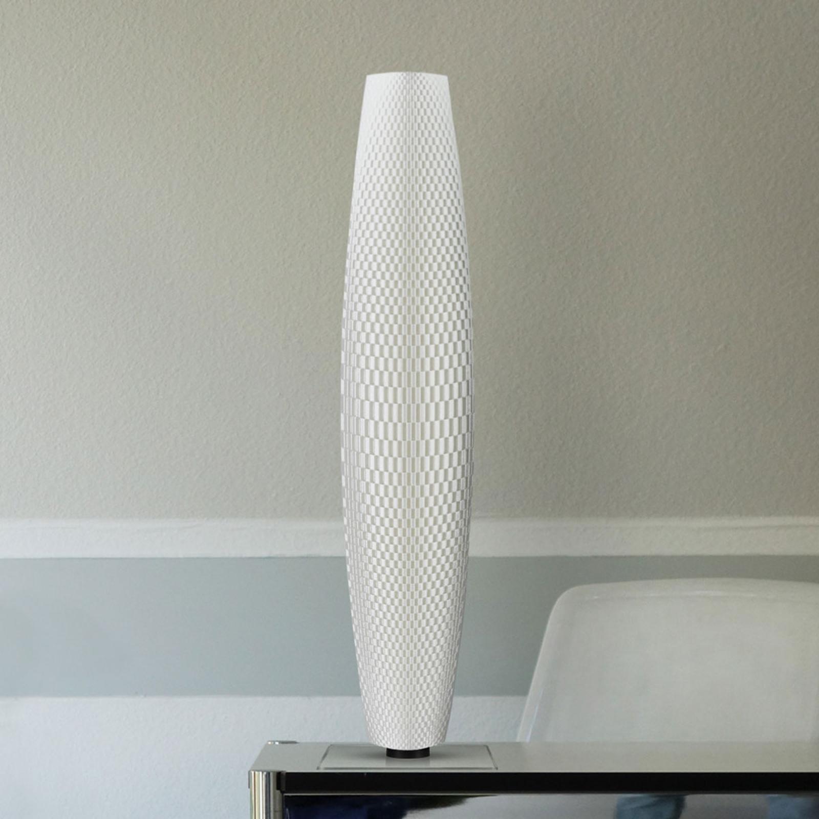 LED-lattiavalaisin Punos Pur, valkoinen 75 cm