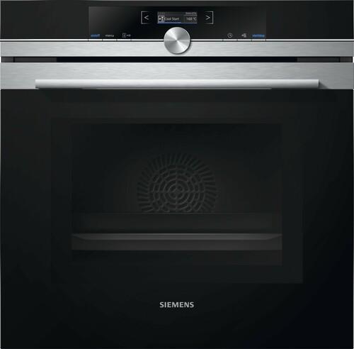 Siemens Hm633gbs1s Iq700 Kombiugn - Rostfritt Stål