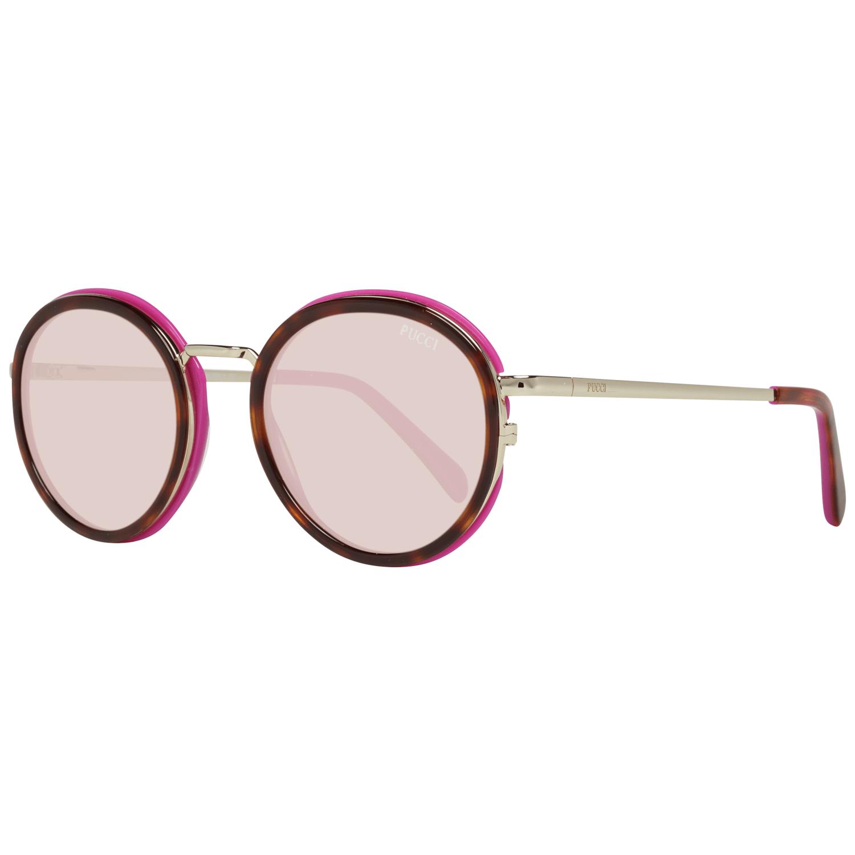 Emilio Pucci Women's Sunglasses Brown EP0046-O 4955Y