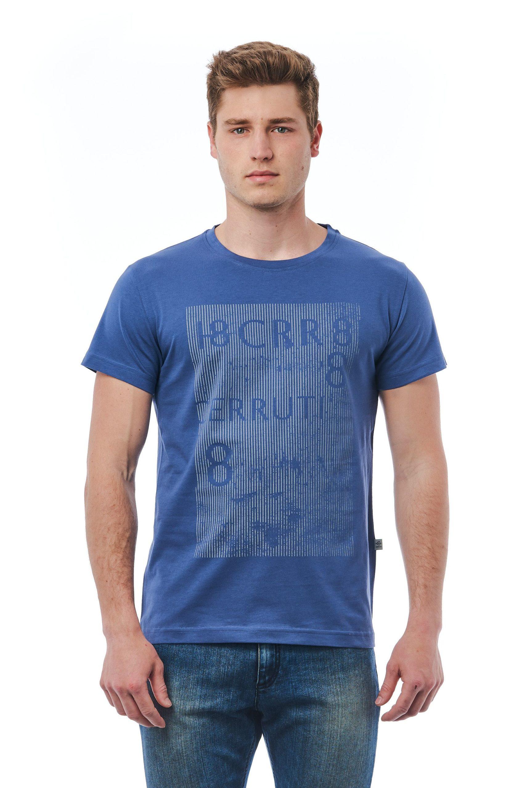 Cerruti 1881 Men's Avio T-Shirt Blue CE1409784 - L