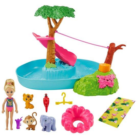 Barbie Lekesett Jungle River Chelsea