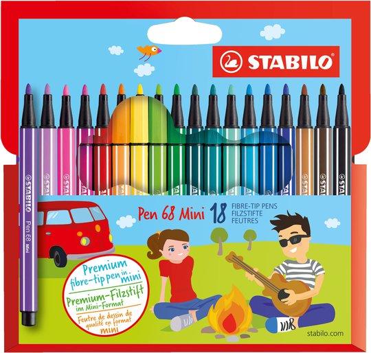 STABILO Filtpenner Premium 18-pack