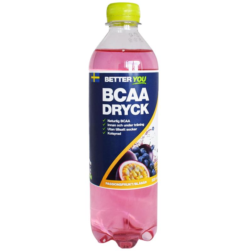 Dryck BCAA Blåbär & Passionsfrukt 500ml - 59% rabatt