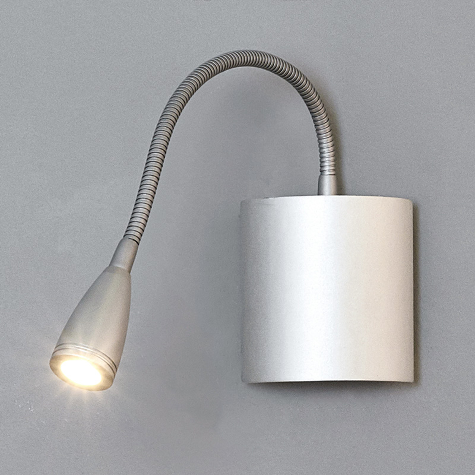 Joustovartinen LED-lukuvalo Anneli seinbään