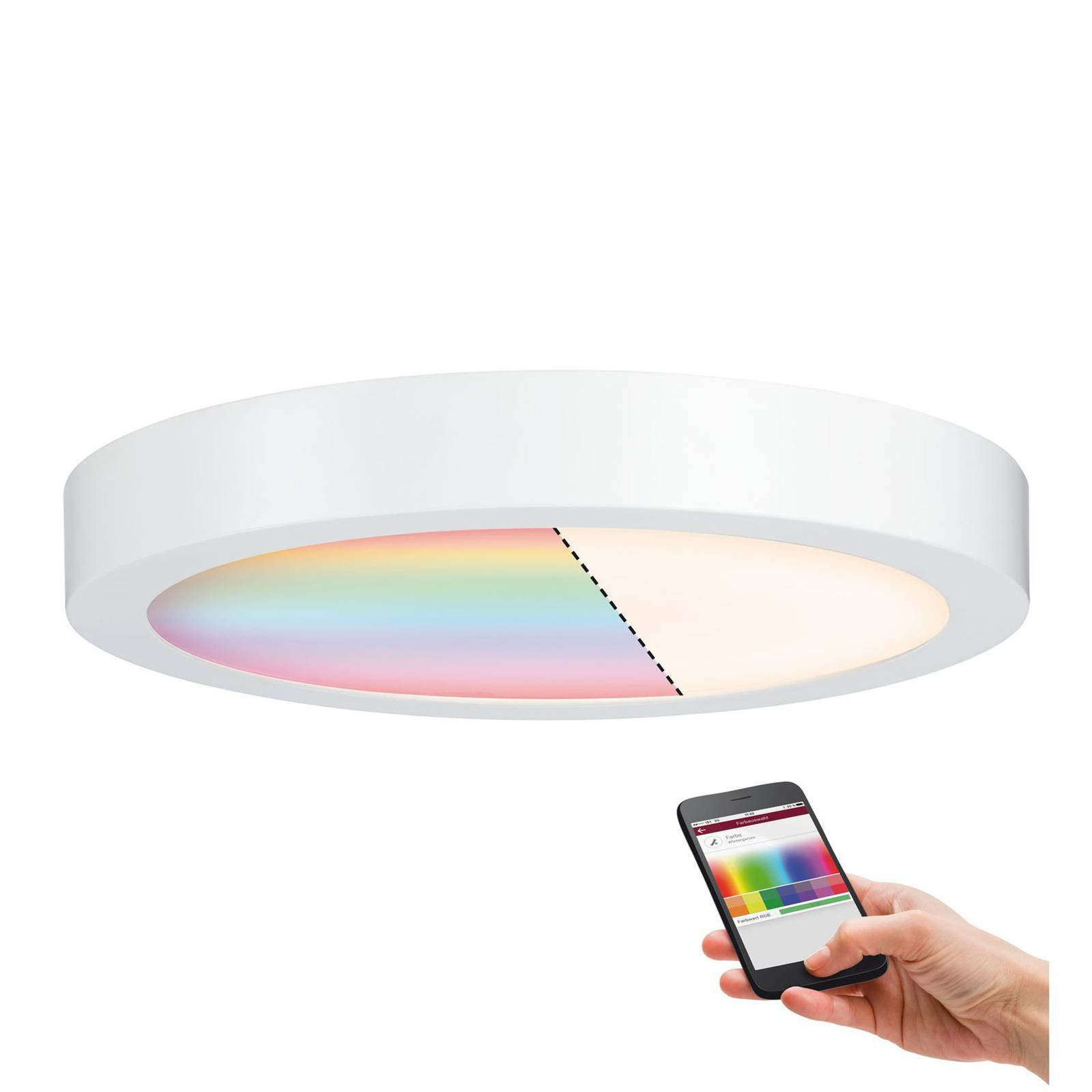 Paulmann Cesena ZigBee LED-taklampe 30 cm