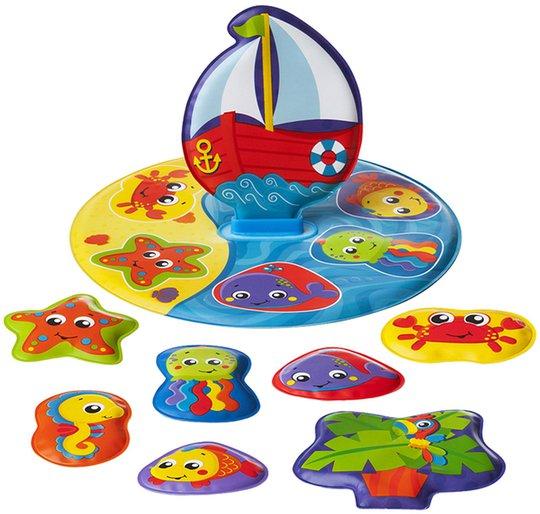PlayGro Floaty Boat Badeleke Puslespill