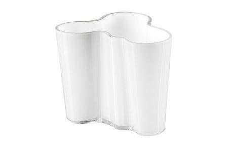Aalto Vase Hvit 95 mm