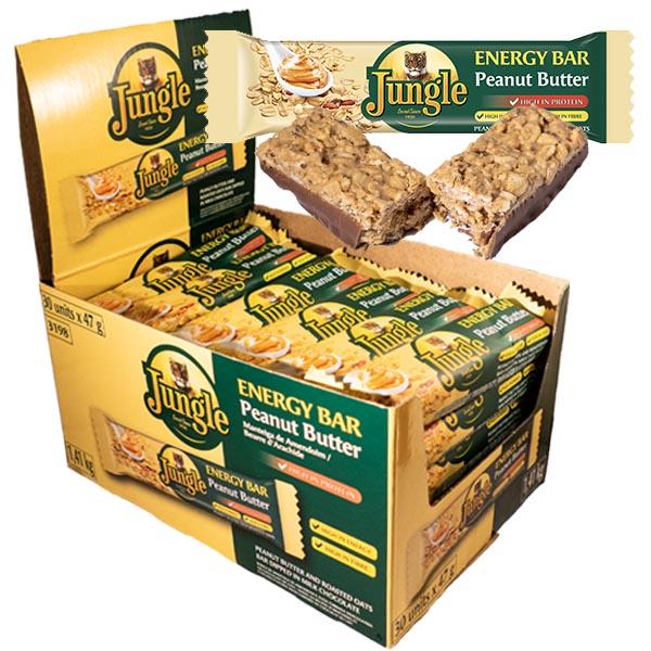 Jungle Energy Bar Peanut Butter 47gx30st