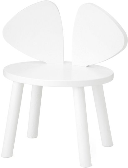 Nofred Mouse Stol, White