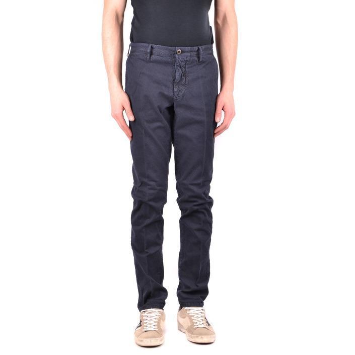 Incotex Men's Trouser Blue 162104 - blue 32