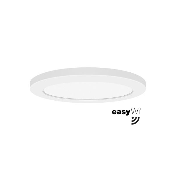Easyform Opto Smart Plafondi Smart-ohjaus 24 W, 2200 lm (Ø 292x15 mm)