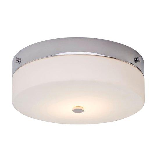 Ajattoman kaunis Tamar-LED-kattolamppu, IP44
