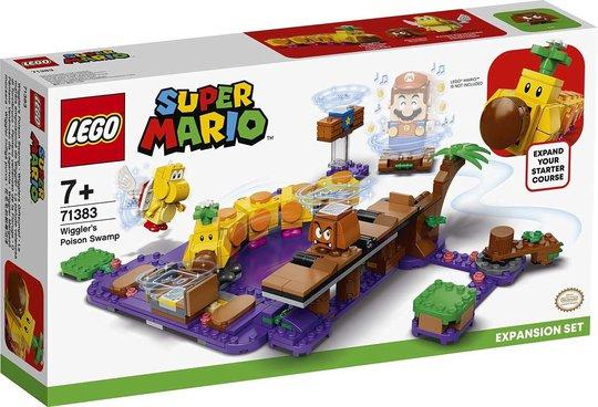 LEGO Super Mario 71383 Ekstrabanesett Wigglers Giftsump