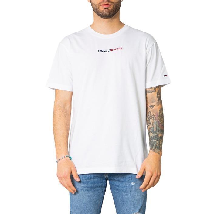 Tommy Hilfiger Jeans Men's T-Shirt White 249542 - white M