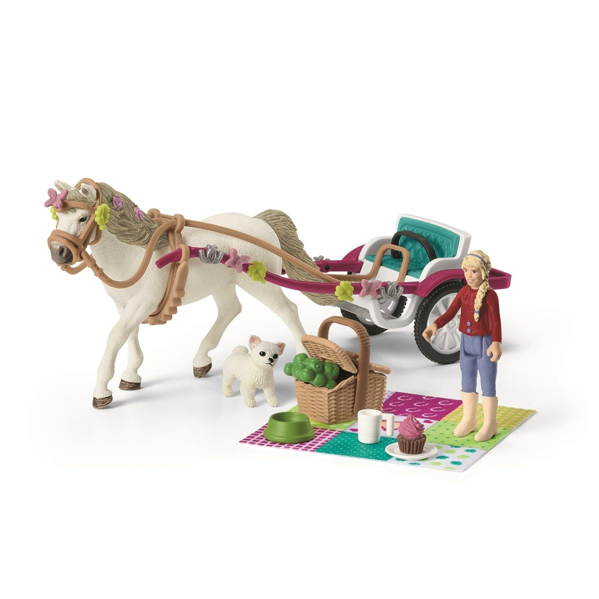 Schleich - Small carriage for the big horse show (42467)