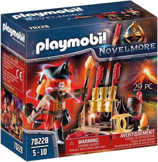 Playmobil 70228 Burnham Raiders ildmester