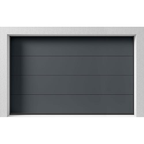 Garasjeport Leddport Moderne Basic Antrasitt, 3000x2000