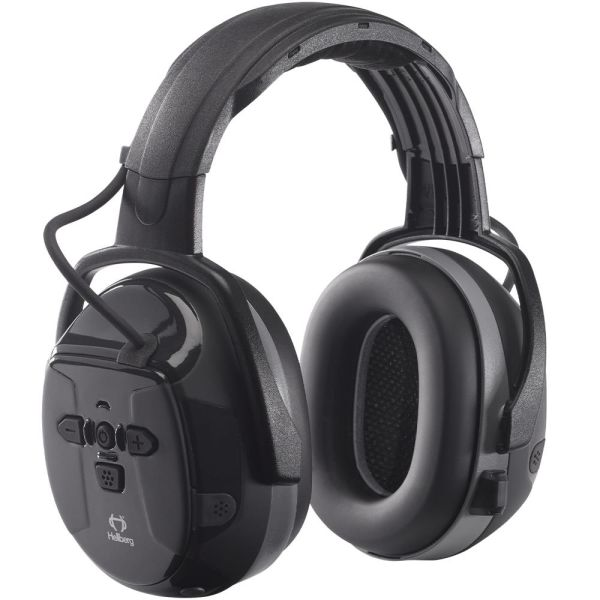 Hellberg Xstream LD Hørselvern Bluetooth, medhøring, hodebøyle