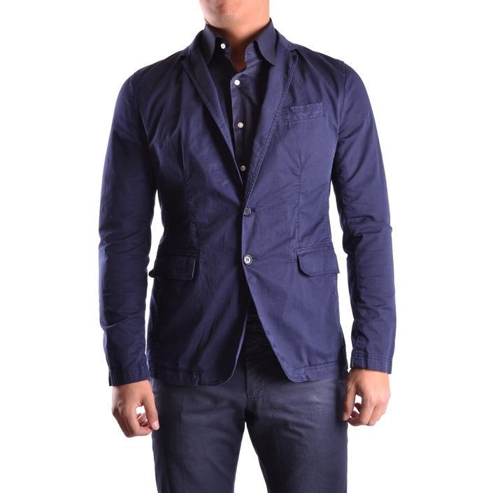 Bikkembergs Men's Blazer Blue 162813 - blue 46