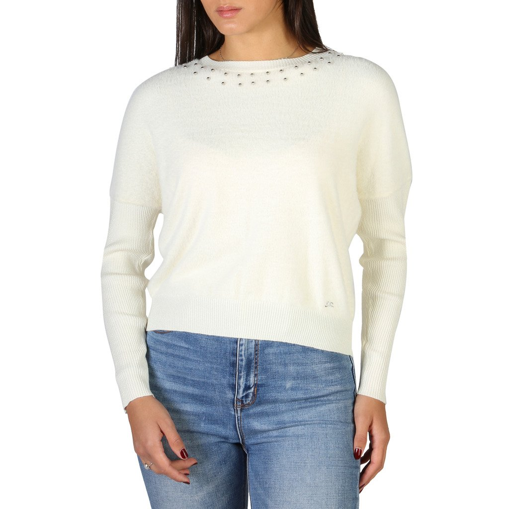 Yes Zee Women's Sweater Various Colours 1664_M014_IS00 - white XS