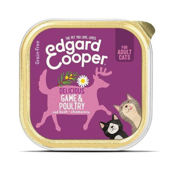Edgard & Cooper Cat Kyckling & Vilt 85 g