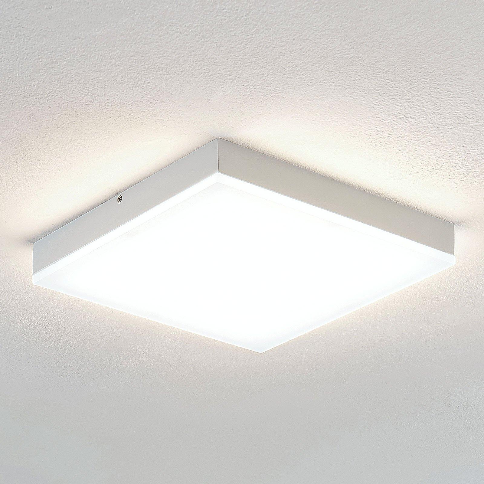 Lindby Tamito LED-taklampe, hvit, 25 cm