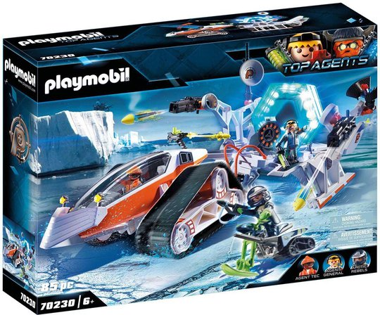 Playmobil 70230 Spy Team Command Sled