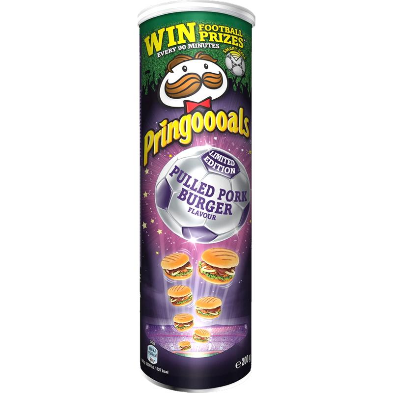 Pringles Pulled Pork Burger - 25% rabatt