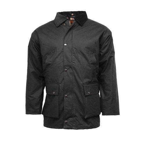 Game Technical Apparel Unisex Jacket Various Colours UNPADDED - Black S