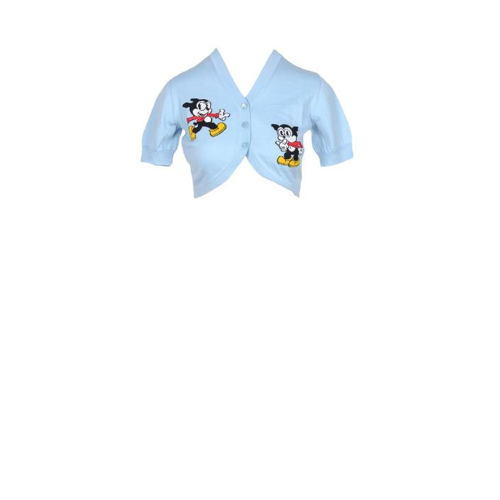 Moschino Couture - Moschino Couture Women Sweatshirts - light blue 42