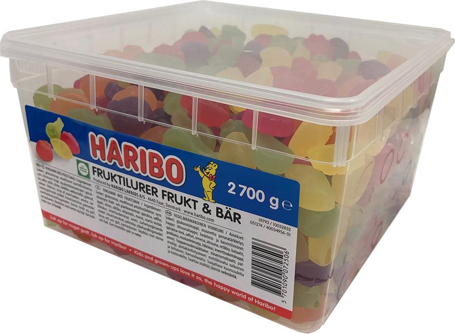 Haribo Fruktilurer 2.7kg