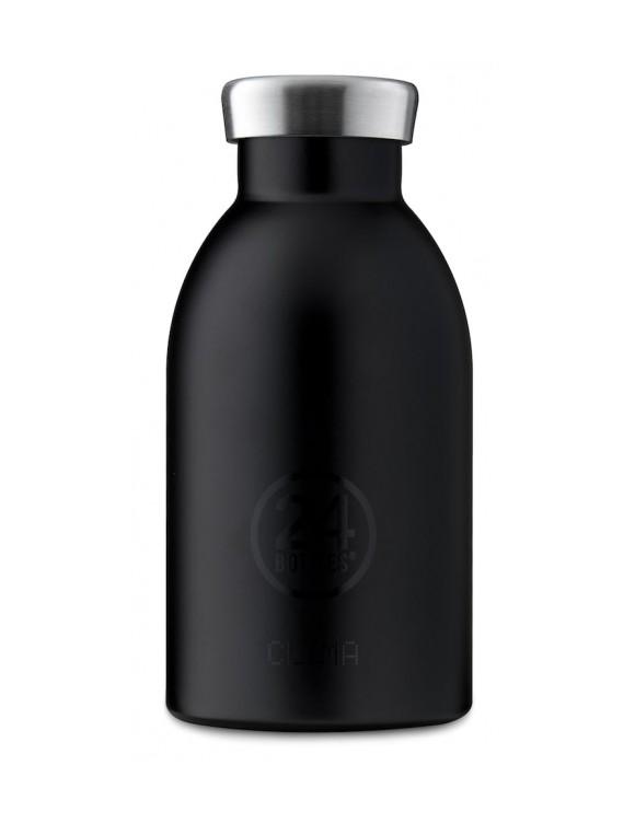 24 Bottles - Clima Bottle 0,33 L - Tuxedo Black
