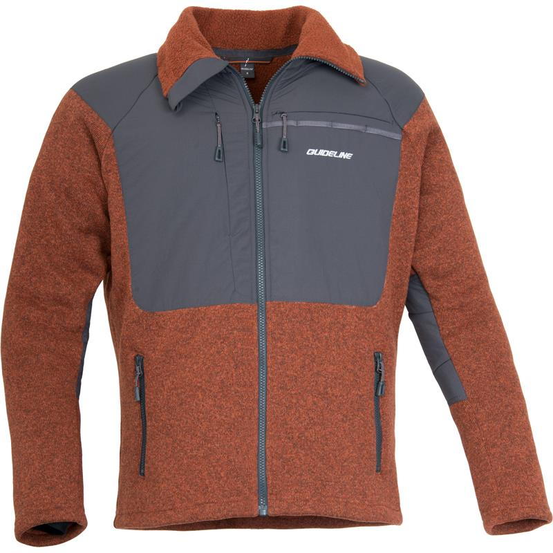Guideline Alta Fleece Jacket M Brick