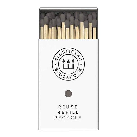 Eldstickan - Tändstickor Refill 60 st Aska