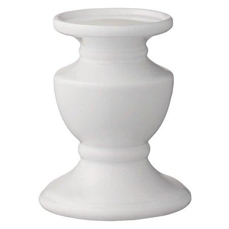 Lysestake Pretoria 14 cm Hvit