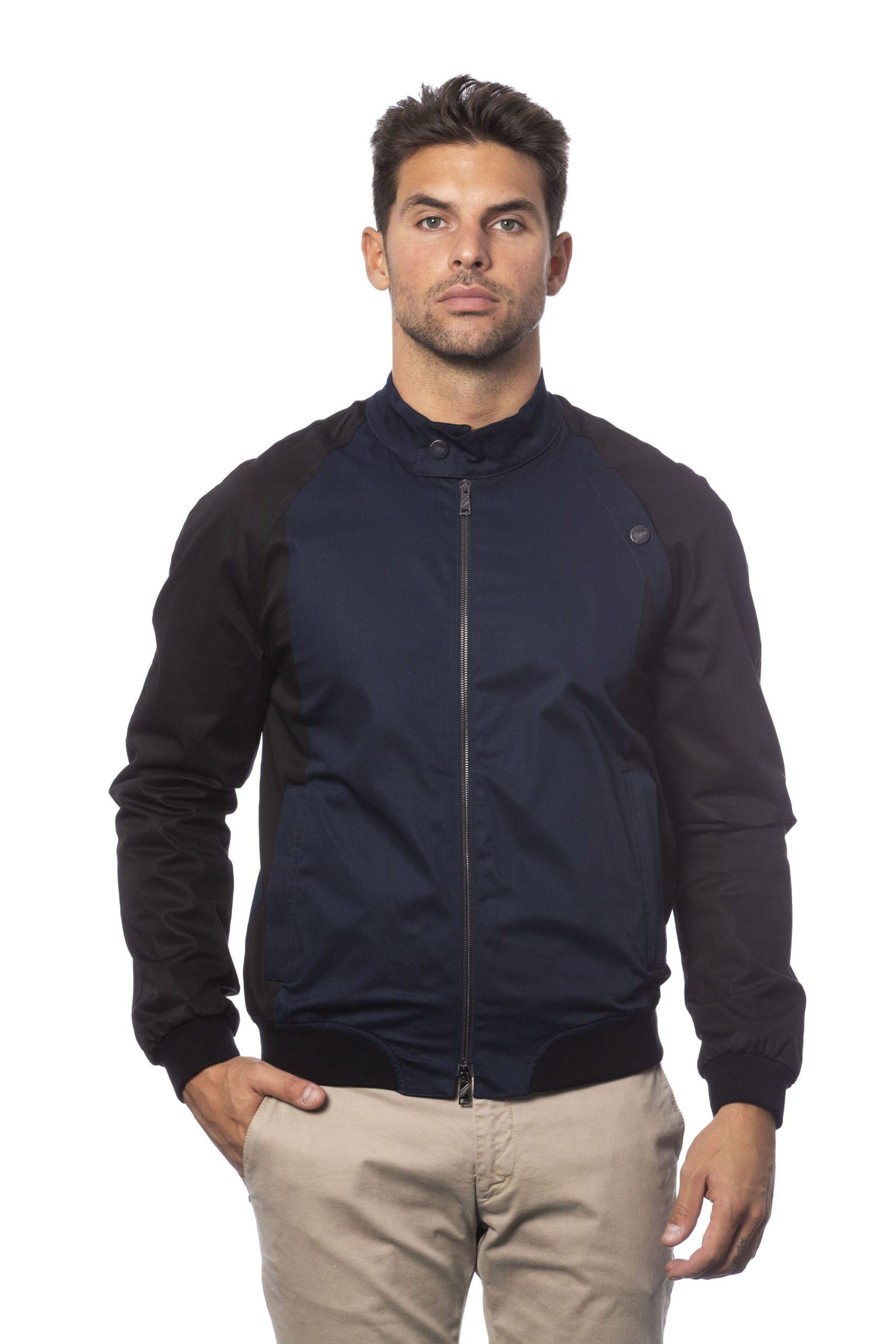 Verri Men's Blu Jacket Blue VE823525 - IT46 | S