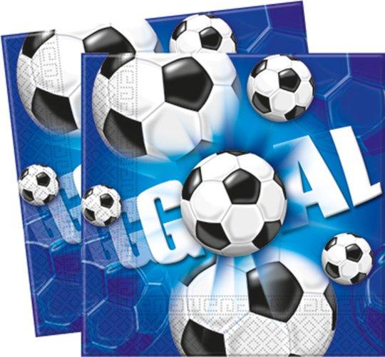 Fotboll Servietter 20-pk