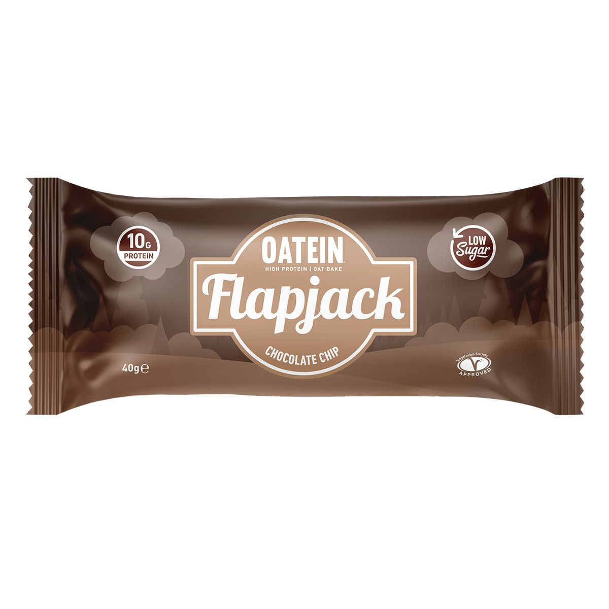 Oatein Flapjack - Chocolate Chip 40g