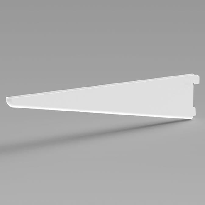 Pelly System Konsoll dobbel, forsterket Hvit, 370